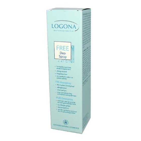 DÉODORANT SPRAY FREE 100 ml de Logona