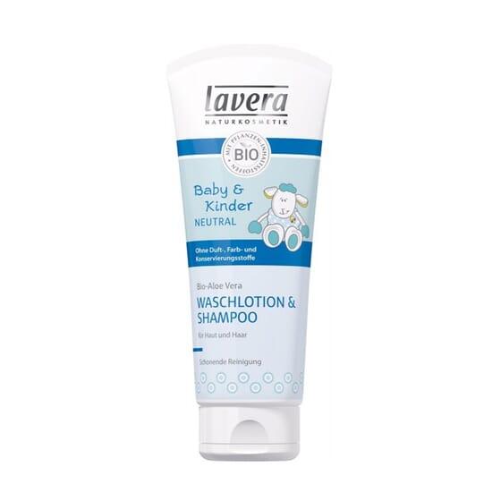 Gel Doccia e Shampoo Neonati 200 ml di Lavera