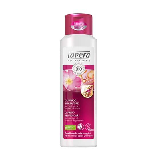 Shampoo Riparatore Rosa Bio 250 ml di Lavera