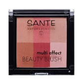 BLUSH MULTI EFFECT 6 TONS 02 CRANBERRY 8g da Sante.