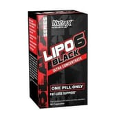 LIPO 6 BLACK ULTRA CONCENTRATE 60 Caps da Nutrex