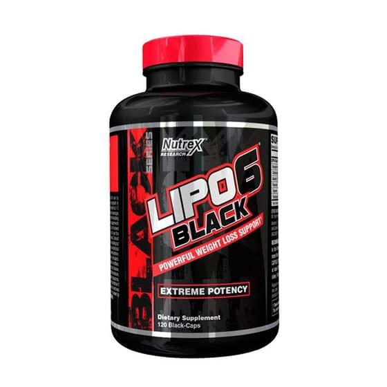 LIPO 6 BLACK 120 Caps de Nutrex