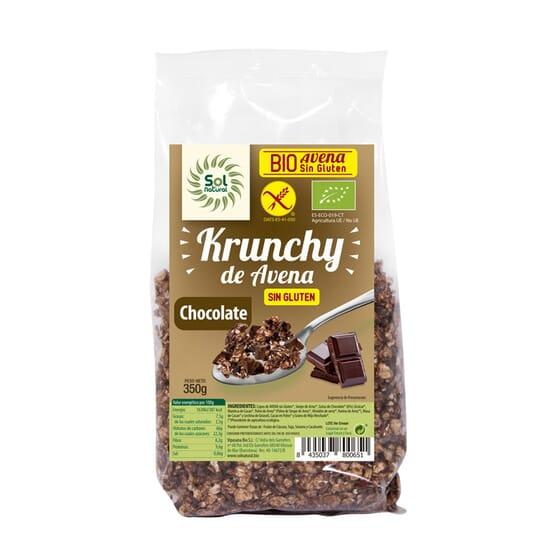 KRUNCHY DE AVENA CON CHOCOLATE BIO 350g de Sol Natural