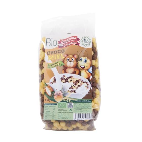 BILLES CHOCO-MIEL BIO 250 g de Sol Natural