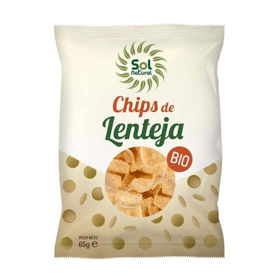 CHIPS DE LENTEJAS BIO 65g de Sol Natural