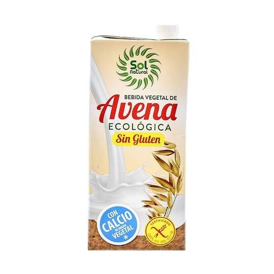 BEBIDA DE AVENA CON CALCIO SIN GLUTEN BIO 1L de Sol Natural.