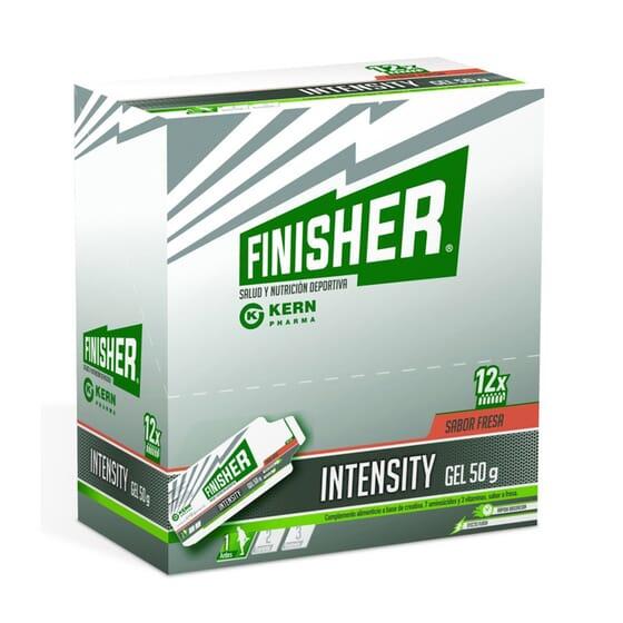 FINISHER INTENSITY GEL ÉNERGÉTICO FRESA 50g 12 Geles de Finisher