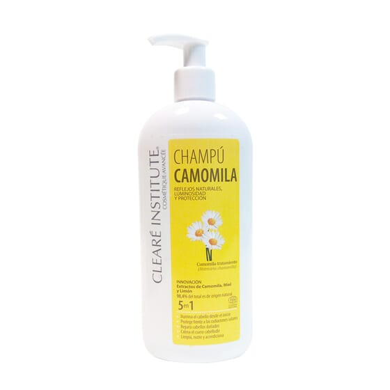 Champô Camomila 5 Em 1 400 ml da Cleare Institute