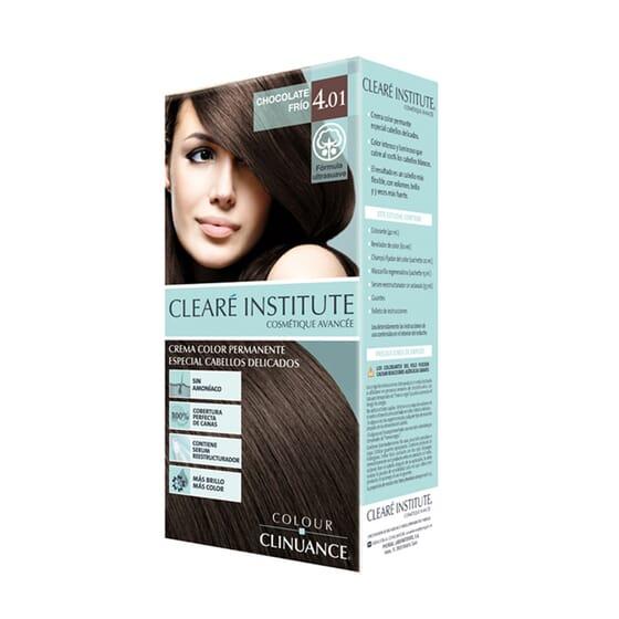 Colour Clinuance Tinta Cabelo Delicado 4.01 Chocolate Frío 170 ml da Cleare Institute