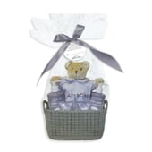 BABY CARE ECO PACK CON CANASTILLA GRIS 1 Packs de E'lifexir