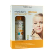 Bioderma Photoderm Pediatrico Kid Spray SPF50+ 200 ml + Atoderm Olio Doccia 100 ml 1 Confezione