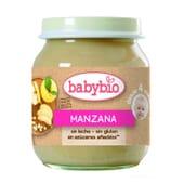 Babybio Pomme 130 g - 100 % fruit d'origine biologique
