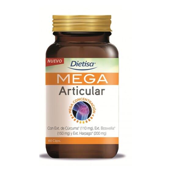 MEGA ARTICULAR 60 Vcaps de Dietisa