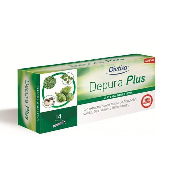 DEPURA PLUS 14 Viales 10ml de Dietisa
