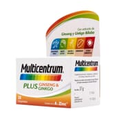MULTICENTRUM PLUS GINSENG Y GINKGO 30 Tabs