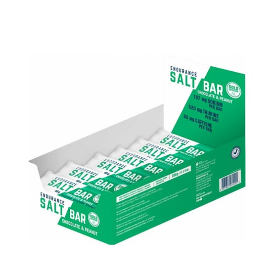 ENDURANCE SALT BAR 15 Barras de 40g da Goldnutrition