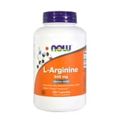 L-ARGININA 500mg 250 Caps de Now Foods