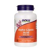 ÁCIDO ALFA LIPOICO 250mg 120 VCaps de Now Foods