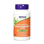 ASHWAGANDHA 450 mg 90 VCaps de Now Foods