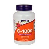 C-1000 CON ESCARAMUJO Y BIOFLAVONOIDES 100 Tabs de Now Foods