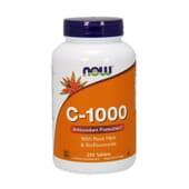 C-1000 CON ESCARAMUJO Y BIOFLAVONOIDES 250 Tabs de Now Foods
