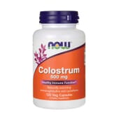 COLOSTRUM 500mg 120 VCaps de Now Foods