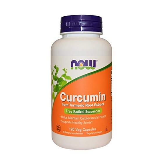 CURCUMINA 95% TURMERIC 120 VCaps de Now Foods
