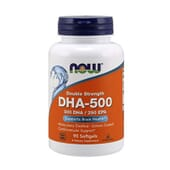 DHA-500 90 Perlas de Now Foods