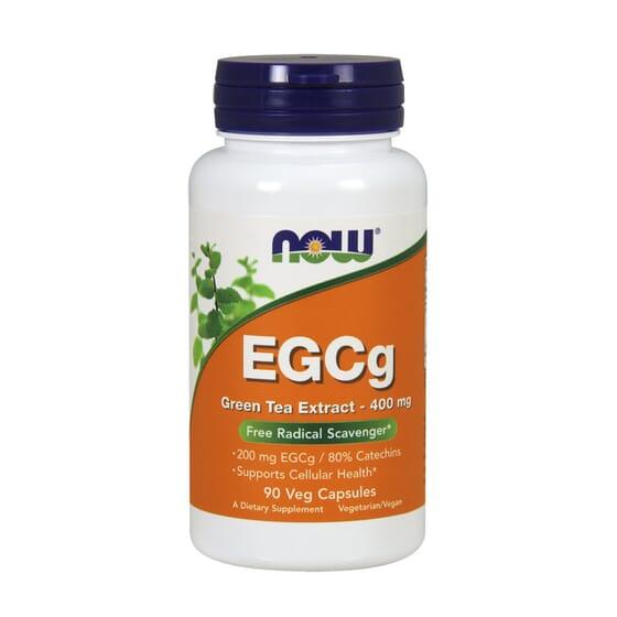EGCG EXTRACTO DE TÉ VERDE 400mg 90 VCaps de Now Foods