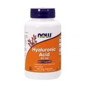 Ácido Hialurónico 50Mg Com Msn 120 Vcaps da Now Foods