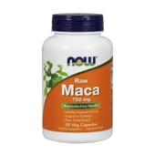 MACA 750mg 90 VCaps de Now Foods