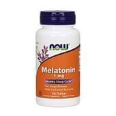 Melatonina 1 mg 100 Pastiglie di Now Foods
