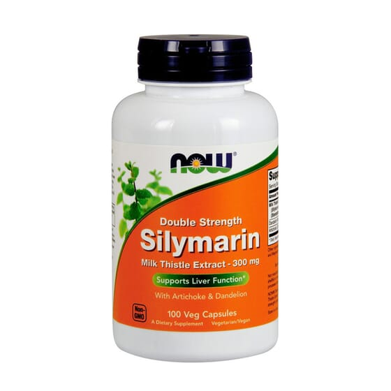 SILIMARINA 300mg 100 VCaps de Now Foods