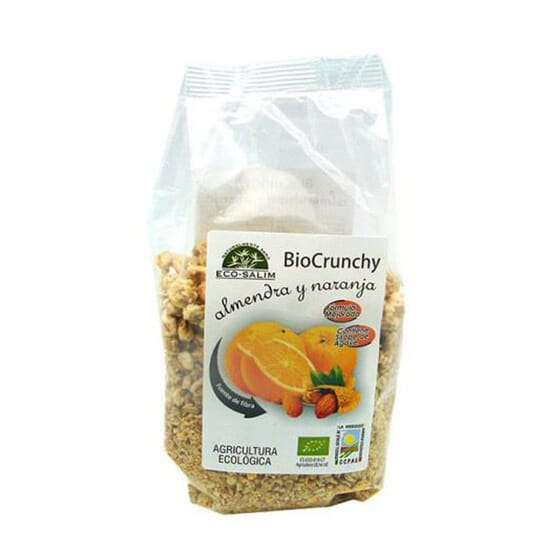 Bio Crunchy Amêndoa E Laranja 250g da Eco-Salim