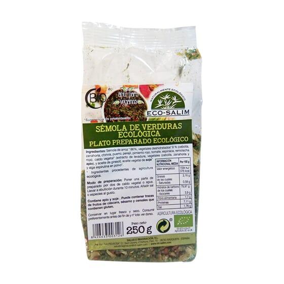 Sêmola De Verduras Bio 250g da Eco-Salim