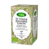 Chá Verde, Gengibre E Limão 20 Infusões da Artemis Bio