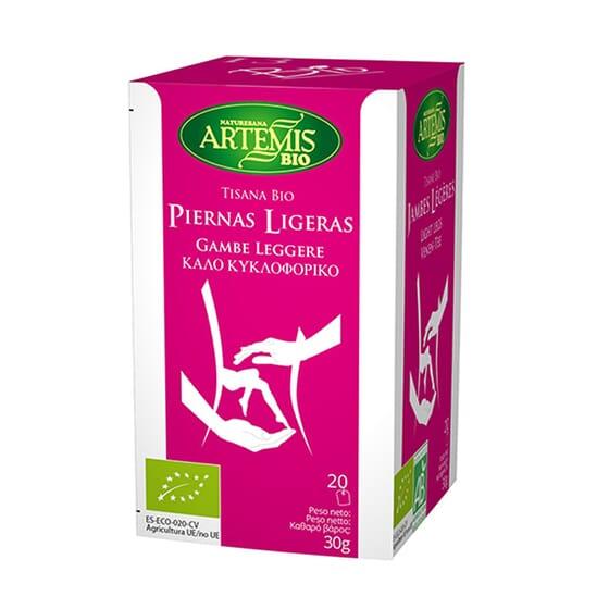 TISANA BIO PIERNAS LIGERAS 20 Infusiones de Artemis Bio