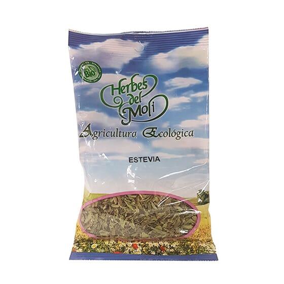 Stevia Folha Cortada Bio 25g da Herbes del Moli