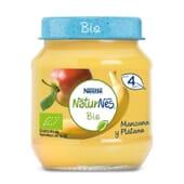 NATURNES BIO POTITO MANZANA Y PLÁTANO 120g de Nestle Naturnes