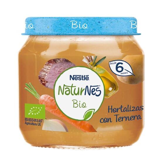 NATURNES BIO POTITO HORTALIZAS CON TERNERA 200g de Nestle Naturnes