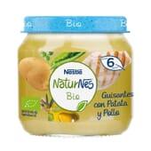Naturnes Bio Potito Guisantes con Patata y Pollo 200g - Nestle