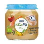 NATURNES BIO BOIÃO CENOURA E TOMATE COM PERU 200g da Nestlé Naturnes