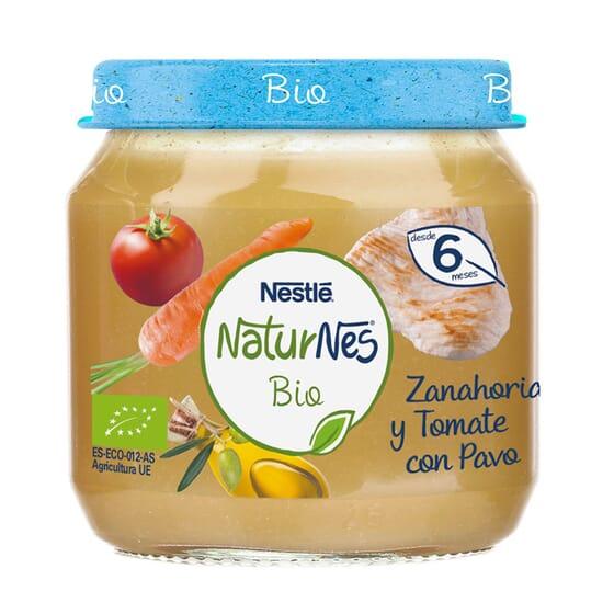 NATURNES BIO POTITO ZANAHORIA Y TOMATE CON PAVO 200g de Nestle Naturnes