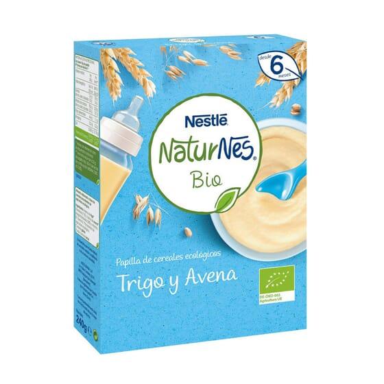 NATURNES BIO PAPILLA TRIGO Y AVENA 240g de Nestle Naturnes