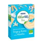 NATURNES BIO PAPA TRIGO E AVEIA SABOR BAUNILHA 240g da Nestlé Naturnes