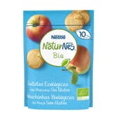 NATURNES BIO GALLETAS ECOLÓGICAS SIN GLUTEN CON MANZANA 150g de Nestle Naturnes