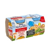 NATURNES SELECCIÓN POTITO JUDÍAS VERDES Y PATATAS CON TERNERA 2 Ud 200g de Nestle Naturnes