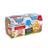 NATURNES SELECCIÓN POTITO VERDURITAS CON CORDERO 2 Ud 200g de Nestle Naturnes