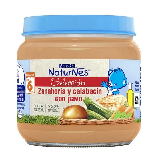NATURNES SELECCIÓN POTITO ZANAHORIA Y CALABACÍN CON PAVO 190g de Nestle Naturnes