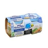 NATURNES SÉLECTION PETIT POT PETITS LÉGUMES ET MERLAN À LA CRÈME 2 Unités de 200 g de Nestlé Nat